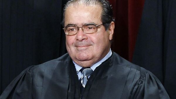 ABD Yüksek Mahkemesi üyesi Antonin Scalia - Sputnik Türkiye