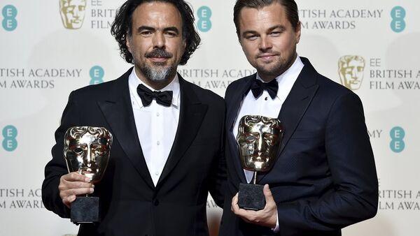 Alejandro Gonzalez Inarritu- Leonardo DiCaprio - Sputnik Türkiye