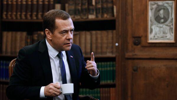Rusya Başbakanı Dimitriy Medvedev - Sputnik Türkiye