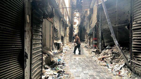 Halep Eski Şehir. - Sputnik Türkiye