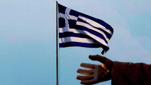 Yunanistan bayrağı / Atina - Sputnik Türkiye