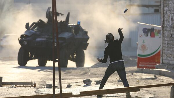 Bahreyn'deki hükümet karşıtı gösteriler - Sputnik Türkiye