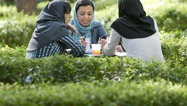 İranlı genç kadınlar - Sputnik Türkiye