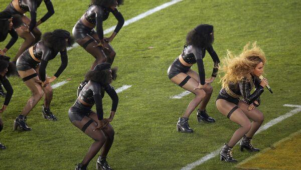 Beyonce'nin Super Bowl şovu - Sputnik Türkiye