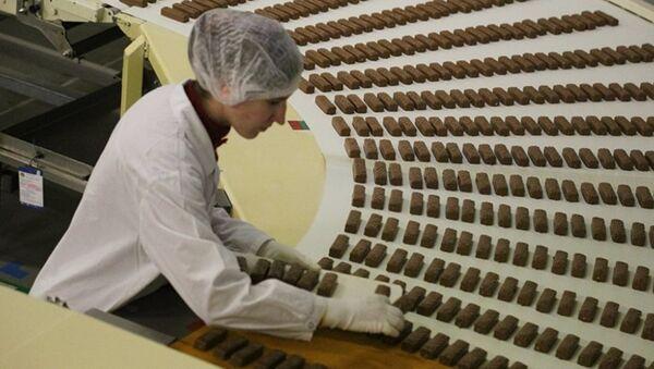 Çikolata fabrikası - Sputnik Türkiye