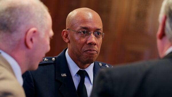 ABD Hava Kuvvetleri Komutanı Charles Brown - Sputnik Türkiye