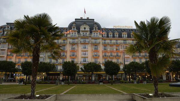 Cenevre || görüşmelerinin yapıldığı Montreux Palace - Sputnik Türkiye