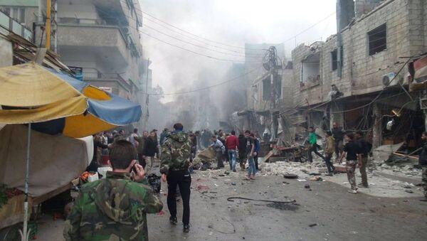 Şam'da saldırı - Sputnik Türkiye