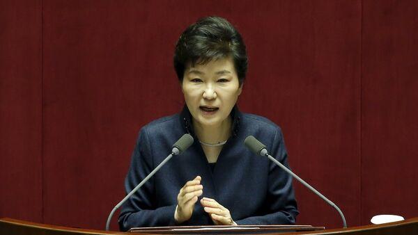 Güney Kore Devlet Başkanı Park Geun-hye - Sputnik Türkiye