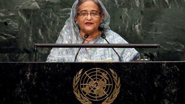 Bangladeş Başbakanı Şeyh Hasina Vezid - Sputnik Türkiye