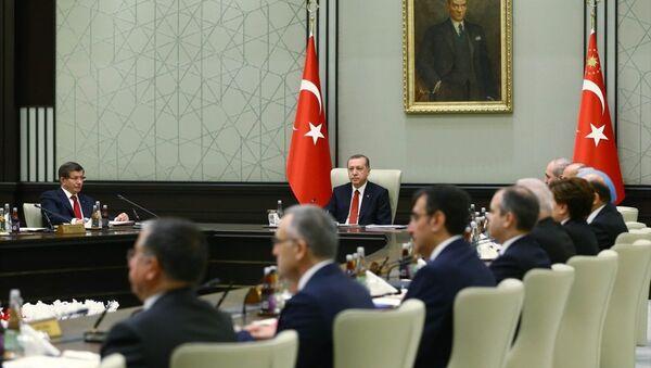 Bakanlar Kurulu, Cumhurbaşkanı Recep Tayyip Erdoğan başkanlığında toplandı. - Sputnik Türkiye