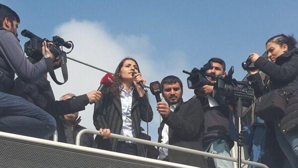 HDP Van Milletvekili Tuğba Hezer - Sputnik Türkiye