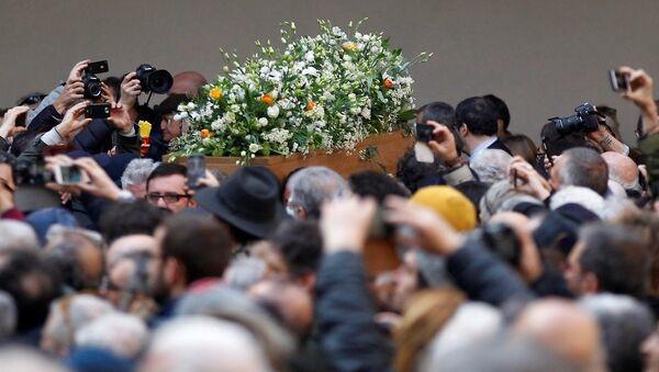 Umberto Eco cenaze - Sputnik Türkiye