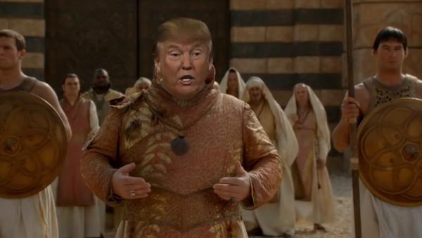 Donald Trump Westeros'ta - Sputnik Türkiye