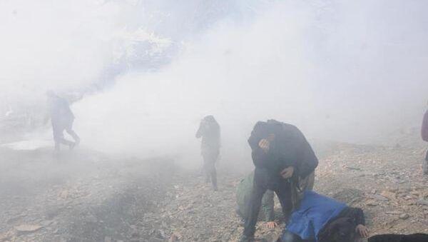 Cizre'de ölen PKK'lı, Hakkari'de toprağa verilirken olay çıktı - Sputnik Türkiye