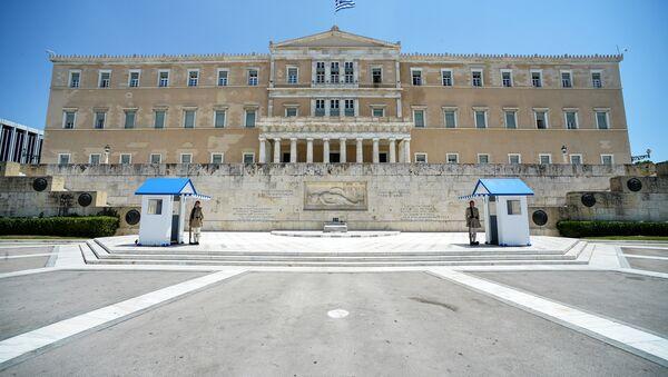 Yunanistan parlamentosu / Vouli - Sputnik Türkiye