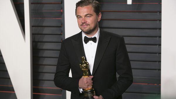 88. Oscar Ödül Töreni'nde 'en iyi erkek oyuncu' ödülü Leonado DiCaprio'nun oldu. - Sputnik Türkiye