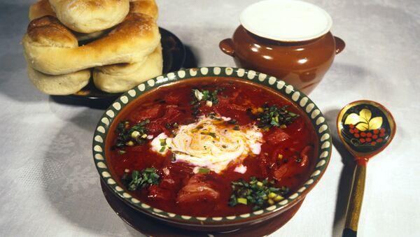 Блюдо национальной украинской кухни - Sputnik Türkiye