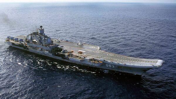 Amiral Kuznetsov uçak gemisi - Sputnik Türkiye