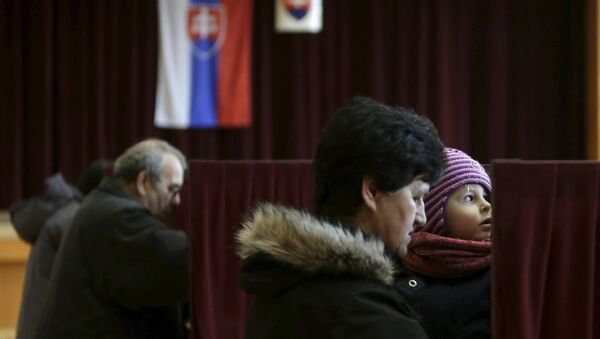 Slovakya seçim - Sputnik Türkiye