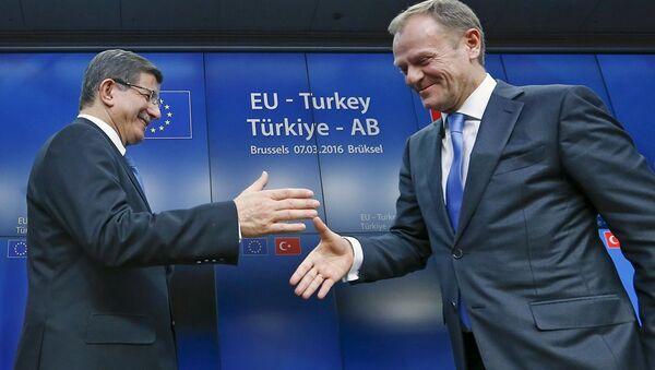 AB - Türkiye Zirvesi - Sputnik Türkiye