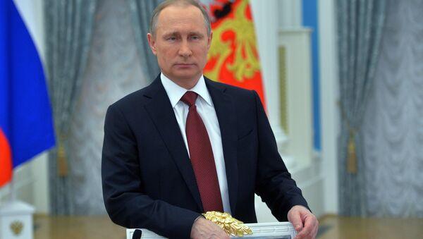 Rusya Devlet Başkanı Vladimir Putin - 8 Mart - Sputnik Türkiye
