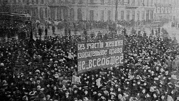 Dünya Kadınlar Günü - Rusya (1917) - Sputnik Türkiye