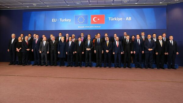 7 Mart AB-Türkiye Zirvesi - Sputnik Türkiye