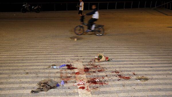 İsrail polisi, Tel Aviv'deki bıçaklı saldırıda bir ABD vatandaşının hayatını kaybettiğini açıkladı. - Sputnik Türkiye