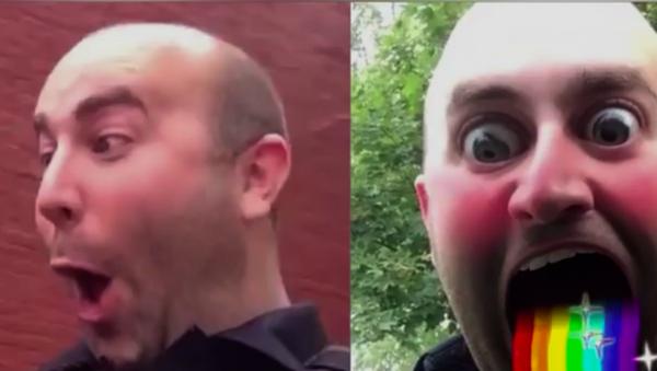 Sosyal medya fenomeni ABD'li polis AngryCops'a görevden uzaklaştırma cezası - Sputnik Türkiye