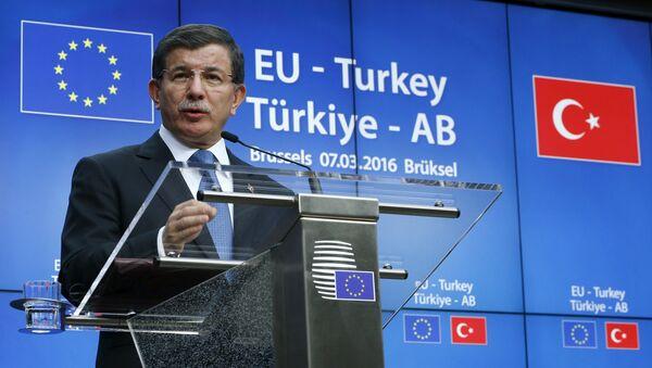 Türkiye Başbakanı Ahmet Davutoğlu - Sputnik Türkiye