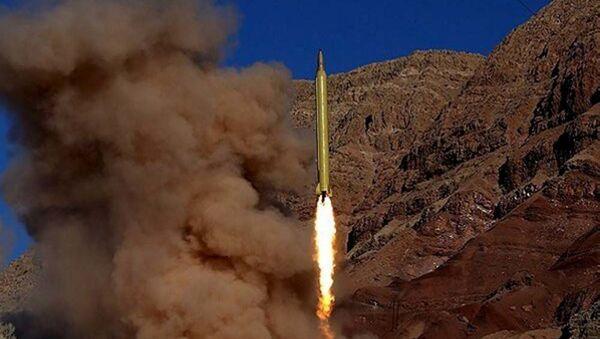 İran balistik füze denemesi gerçekleştirdi. - Sputnik Türkiye
