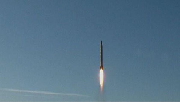 İran'ın balistik füze denemesi. - Sputnik Türkiye