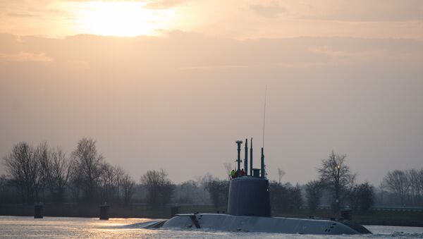 Almanya- İsrail- denizaltı - Sputnik Türkiye