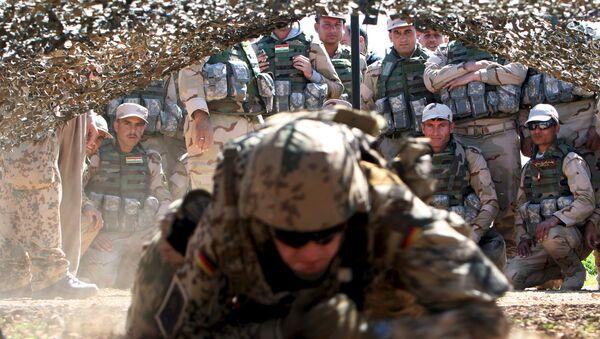 ABD askeri - Irak - Peşmerge - Sputnik Türkiye