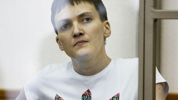 Ukraynalı pilot Nadejda Savçenko - Sputnik Türkiye