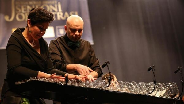'Dünyanın en ünlü cam ikilisi' ilk kez Türkiye'de - Sputnik Türkiye