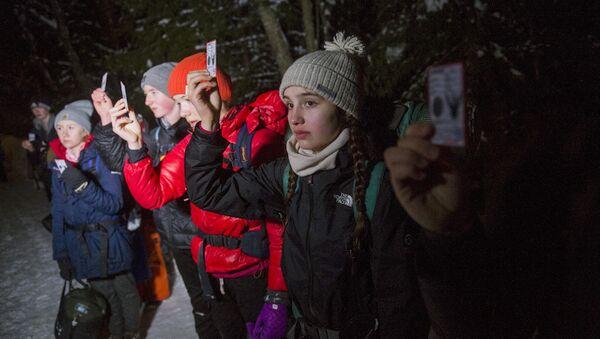 Danimarkalı gençler bir günlüğüne sığınmacı oldu: Tükendik - Sputnik Türkiye