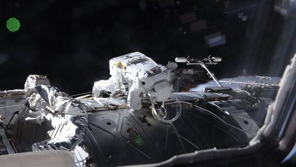 Rus kozmonot uzayda çektiği fotoğrafları paylaştı - Sputnik Türkiye