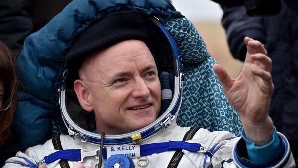 ABD'li astronot Scott Kelly - Sputnik Türkiye