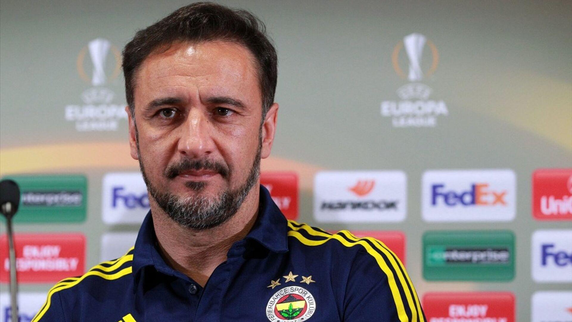 Fenerbahçe teknik direktörü Vitor Pereira - Sputnik Türkiye, 1920, 02.07.2021