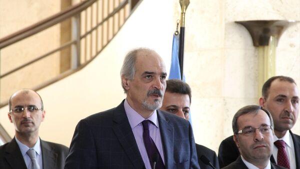 Suriye'nin BM Daimi Temsilcisi Beşar Caferi - Sputnik Türkiye