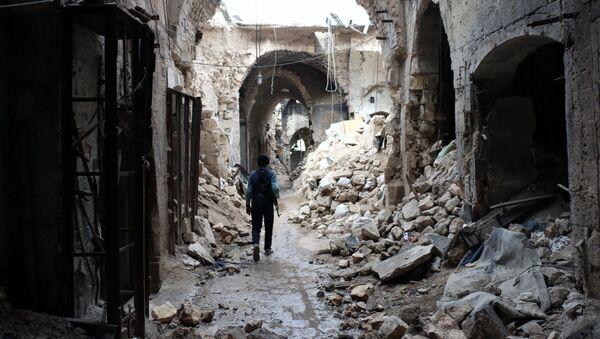 Savaştan öncesi ve sonrası Halep - Sputnik Türkiye