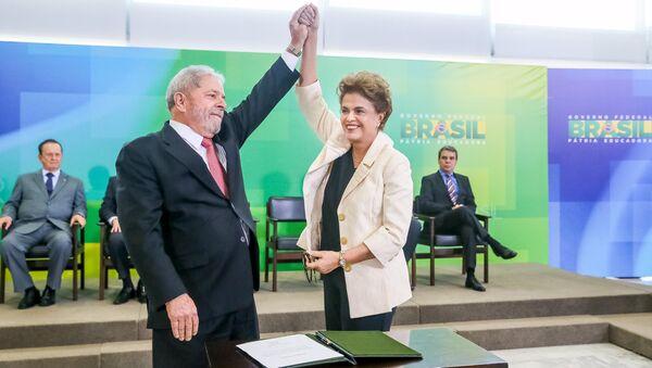 Luiz Inacio Lula da Silva - Dilma Rousseff - Sputnik Türkiye