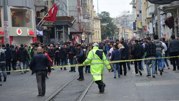 İstiklal Caddesi'nde canlı bomba saldırısı - Sputnik Türkiye