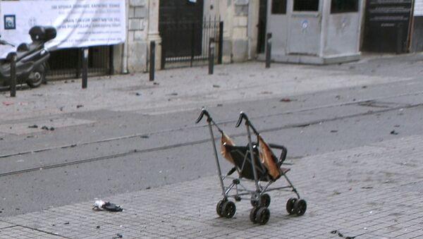 Saldırının ardından İstiklal Caddesi - Sputnik Türkiye