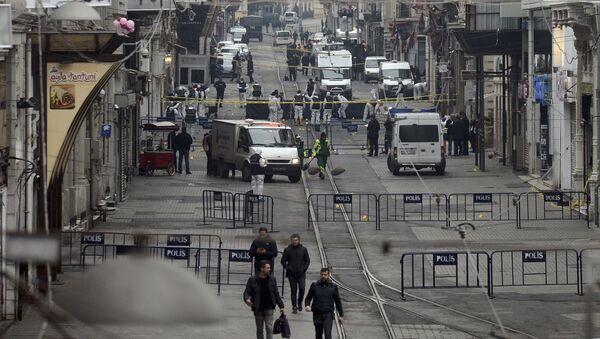Taksim'de patlama - Sputnik Türkiye