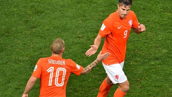 Robin van Persie - Wesley Sneijder - Sputnik Türkiye