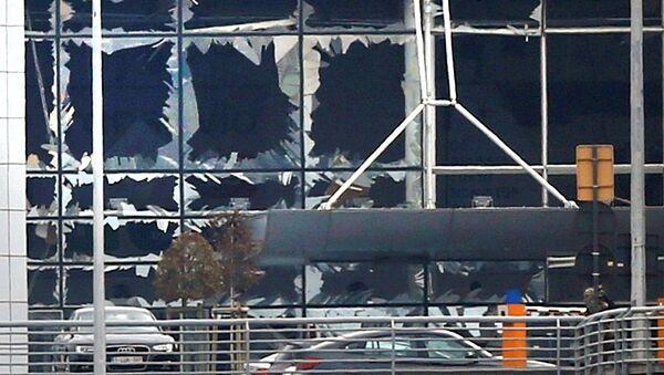 Brüksel Zaventem Havalimanı'nda patlama - Sputnik Türkiye