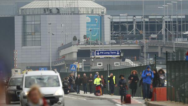 Belçika - Brüksel - Zaventem Havalimanı - Sputnik Türkiye